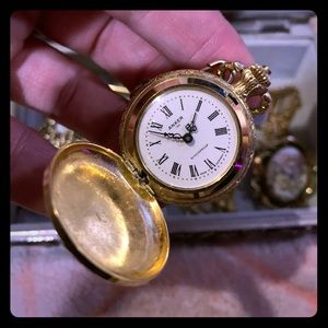 Vintage pocket watch Anker 100 Made in Germany